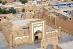 A cidade antiga de Bukharat foto de stock