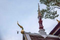 A cidade antiga de Chiang Mai, de Tailândia Wat Chedi Luang & de x28; Wat Chedi Luang & x29; Imagens de Stock Royalty Free