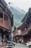 Cidade antiga de China fotografia de stock royalty free