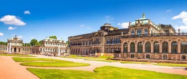 A cidade antiga de Dresden, Alemanha Foto de Stock