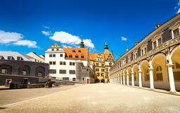 A cidade antiga de Dresden, Alemanha Fotos de Stock