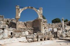 Cidade antiga de Ephesus Imagem de Stock