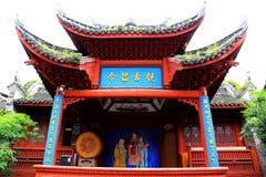Cidade antiga de Fenghuang, como uma cidade histórica e cultural nacional, o primeiro grupo de condados fortes do turista em Chin fotografia de stock