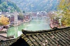 Cidade antiga de Fenghuang, província de Hunan, China imagem de stock royalty free