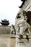 Cidade antiga de Fuliang na cidade de jingdezhen Imagens de Stock Royalty Free