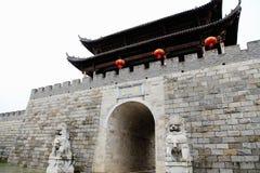 Cidade antiga de Fuliang na cidade de jingdezhen Imagens de Stock