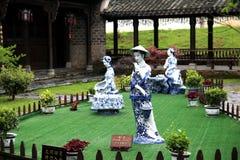 Cidade antiga de Fuliang na cidade de jingdezhen Foto de Stock