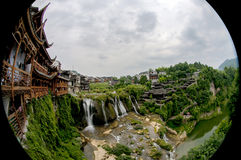 A cidade antiga de FuRong Fotos de Stock