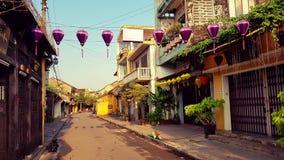Cidade antiga de Hoi An imagens de stock royalty free