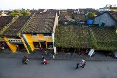 Cidade antiga de Hoian do highview Imagem de Stock Royalty Free