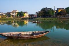 Cidade antiga de Hoian em Vietname Imagens de Stock Royalty Free
