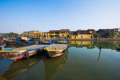 Cidade antiga de Hoian em Vietname Fotos de Stock Royalty Free