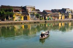 Cidade antiga de Hoian em Vietname Foto de Stock Royalty Free