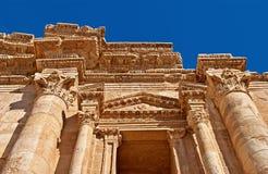 Cidade antiga de Jerash foto de stock royalty free