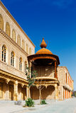A cidade antiga de Kashgar, China na rota de troca de seda na província de Xinjiang fotografia de stock