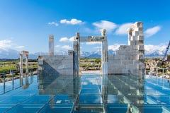 Cidade antiga de Laodikeia, Denizli Fotografia de Stock Royalty Free