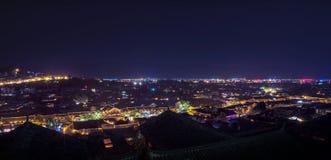 A cidade antiga de Lijiang Imagens de Stock