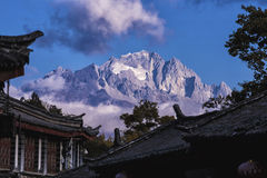 A cidade antiga de Lijiang Imagens de Stock Royalty Free