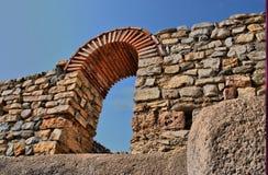 Cidade antiga de Macedônia fotografia de stock