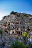 A cidade antiga de Myra, Turquia Imagem de Stock Royalty Free