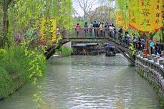 Cidade antiga de Nanxun imagem de stock royalty free