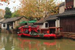 A cidade antiga de Nanxun no outono Foto de Stock Royalty Free