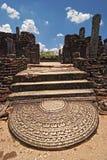 Cidade antiga de Polonnaruwa Imagens de Stock