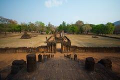Cidade antiga de Sukhothai fotos de stock