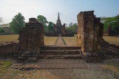 Cidade antiga de Sukhothai foto de stock royalty free