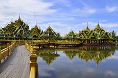 Cidade antiga de Tailândia Fotos de Stock Royalty Free