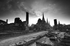 Cidade antiga de Tailândia Foto de Stock Royalty Free