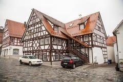 Cidade antiga de Trochtelfingen em Alemanha do sul Foto de Stock