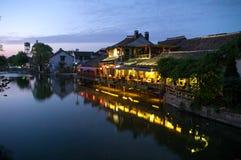 Cidade antiga de Watertown XiTang Imagens de Stock Royalty Free