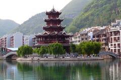 Cidade antiga de Zhenyuan, China Foto de Stock Royalty Free