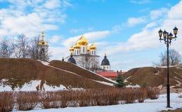 Cidade antiga do russo de Dmitrov Imagens de Stock
