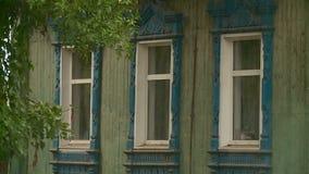 Cidade antiga do russo de Urzhum vídeos de arquivo