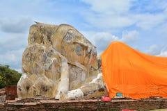 A cidade antiga do si Ayutthaya de Ayutthaya Phra Nakhon Fotos de Stock Royalty Free