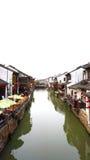 A cidade antiga famosa de China de suzhou Imagens de Stock