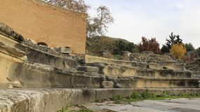 Cidade antiga histórica Gortyn imagens de stock royalty free