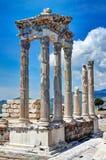 Cidade antiga Izmir de Bergama Fotos de Stock Royalty Free