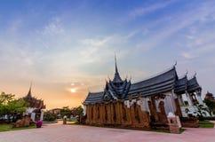 Cidade antiga Mueang Boran, Banguecoque, Tailândia Foto de Stock