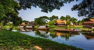 Cidade antiga Mueang Boran, Banguecoque, Tailândia Imagens de Stock