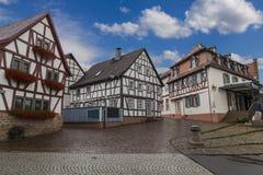 Cidade antiga Selingenstadt, Alemanha, cidade velha histórica Imagens de Stock