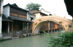 Cidade aquosa antiga Imagens de Stock Royalty Free