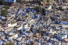 Cidade azul imagem de stock royalty free