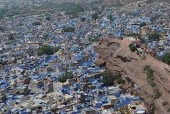 A cidade azul - Jodhpur Fotos de Stock