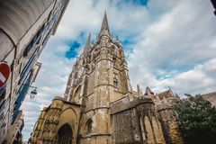 Cidade basque france de Bayonne fotos de stock