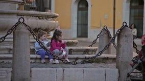 Cidade Benevento Italia vídeos de arquivo