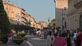 Cidade Benevento Italia video estoque