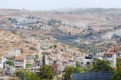 Cidade Bethlehem Vista de acima Imagens de Stock Royalty Free